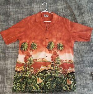 Pacific Legend Hawaii Button up Shirt. XL